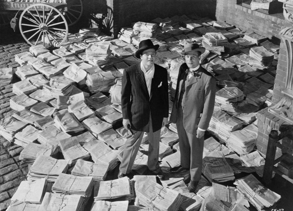 Promotional still for the 1941 film Citizen Kane
